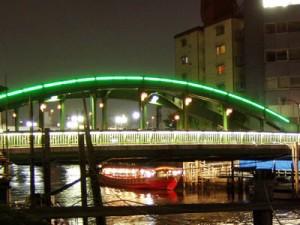 ライトアップ柳橋